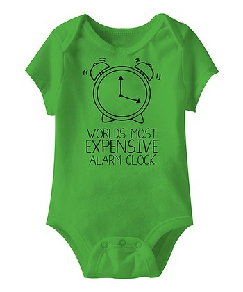 Apple 'Expensive Alarm Clock' Bodysuit - Infant
