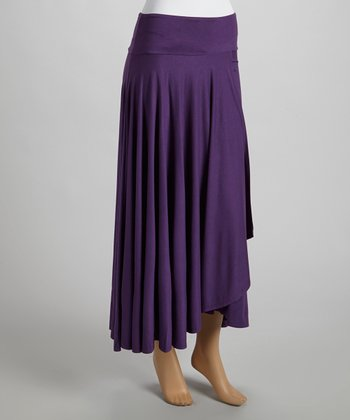 Amethyst Wrap Skirt