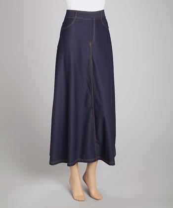 Denim Urban Maxi Skirt