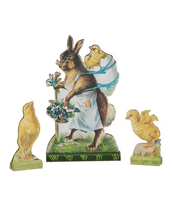 Easter Cut-Out Figurine Set