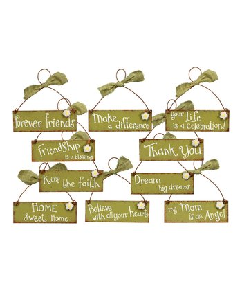 Greeting Sign Set