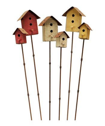 Birdhouse Pick Set