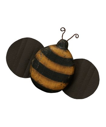 Small Wooden Bumblebee