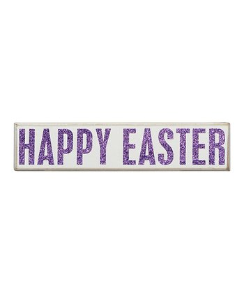 'Happy Easter' Box Sign