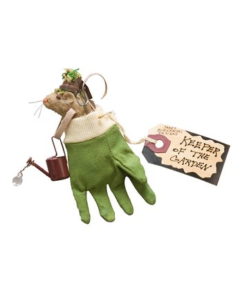 Garden Keeper Mouse Ornament