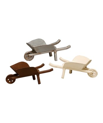Tiny Wheelbarrow Set