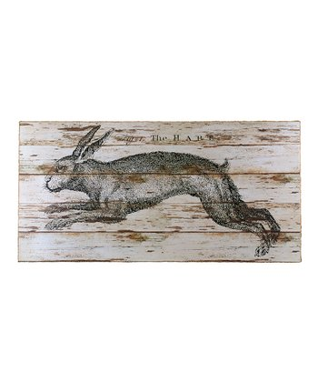 Large Hare Box Sign