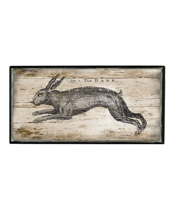 Small Hare Box Sign