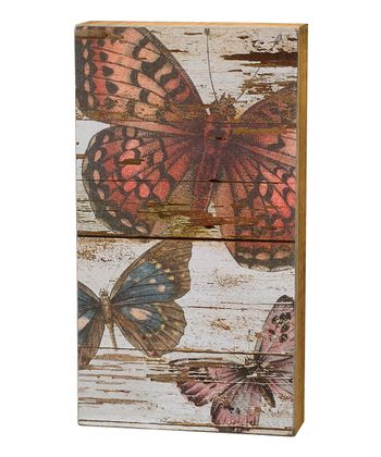 Butterflies Fly Box Sign