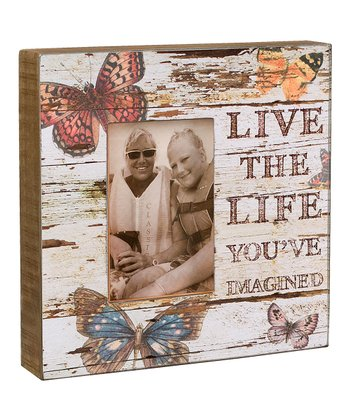'Live the Life' Box Frame