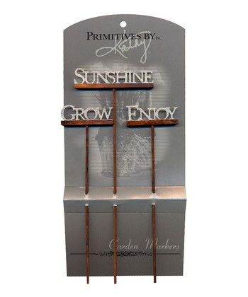 'Sunshine' Garden Stake Set