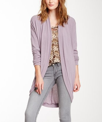 Light Purple Janet Open Cardigan
