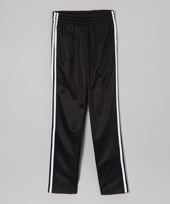 Black Track Pants - Boys