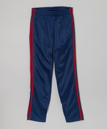 Blue Track Pants - Boys
