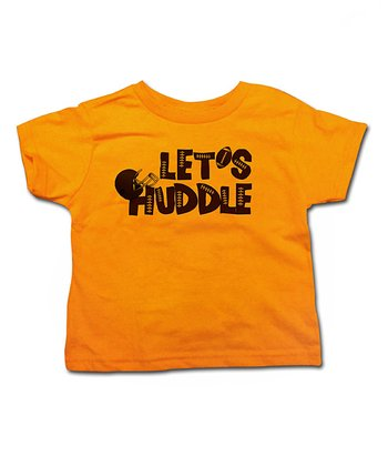 Mandarin 'Let's Huddle' Tee - Toddler & Kids