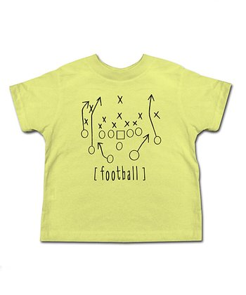 Banana Making Plays 'Football' Tee - Toddler & Kids