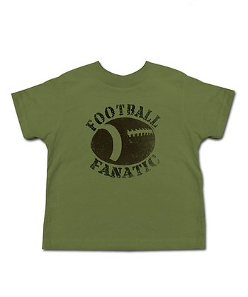 Olive 'Football Fanatic' Tee - Toddler & Kids