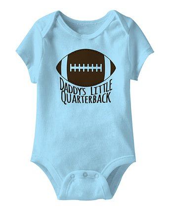 Aqua 'Daddy's Little Quarterback' Bodysuit - Infant