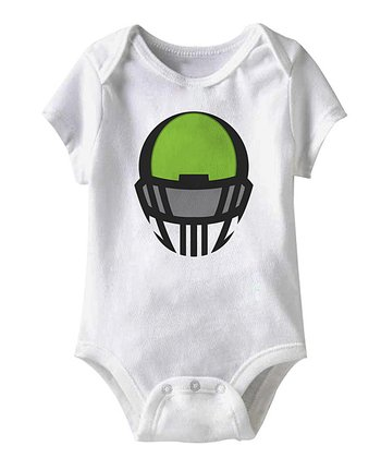 White Headgear Bodysuit - Infant