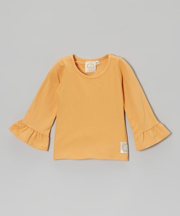 Apricot Simply Terrific Tee - Infant, Toddler & Girls