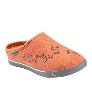Burnt Orange Trillium Slip-On Shoe - Women