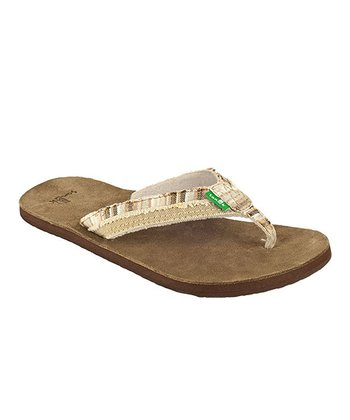 Cream Fraid Too Flip-Flop - Women