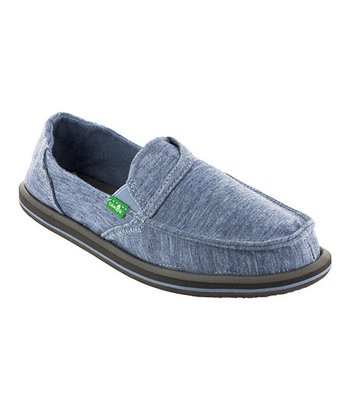 Blue Pickpocket Fleece Slip-On Shoe - Women