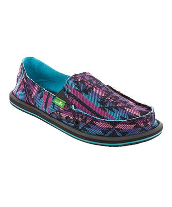 Blue Donna Slip-On Shoe - Women