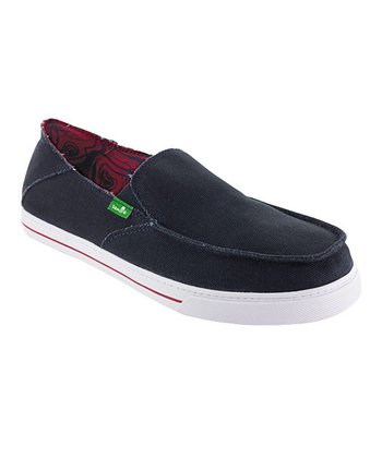 Navy Baseline Slip-On Shoe - Men