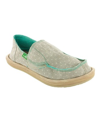 Tan Dotty Slip-On Shoe - Kids