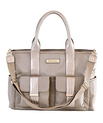 Gray Zoey Diaper Bag