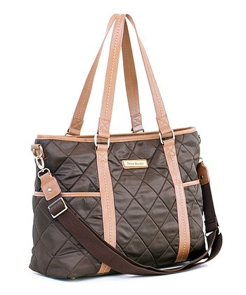 Brown Danah Diaper Bag