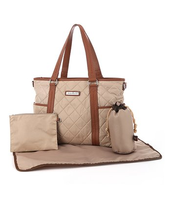 Cream Danah Diaper Bag