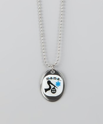 m*a*m*a Jewelry Maternity Alert Pendant Necklace
