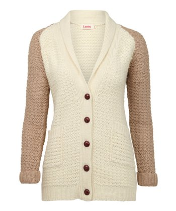 Cream & Nude Bowdy Cardigan