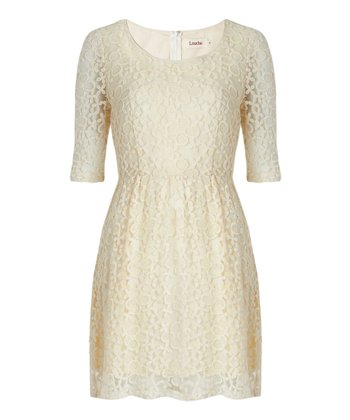 Cream Diaz Dress