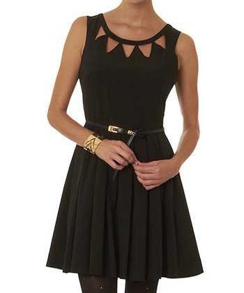 Black Echo Dress