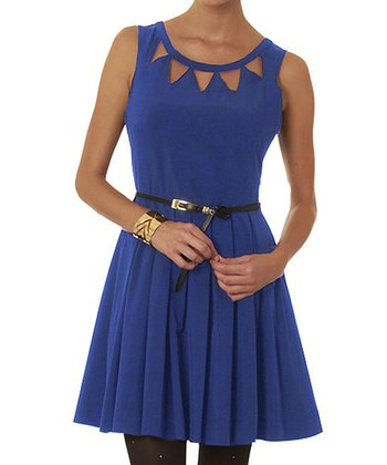 Blue Echo Dress