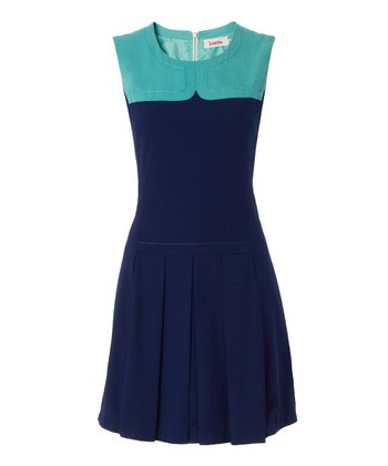 Blue & Light Blue Pam Dress