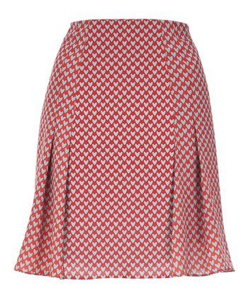 Pink Heart Sheri Skirt