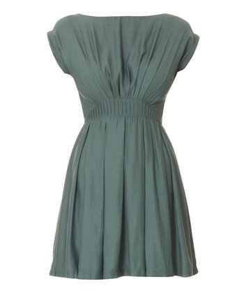 Duck Egg Blue Stefanie Dress