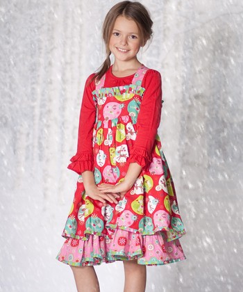 Red Jingle Jelly Holiday Dress & Top - Infant & Toddler