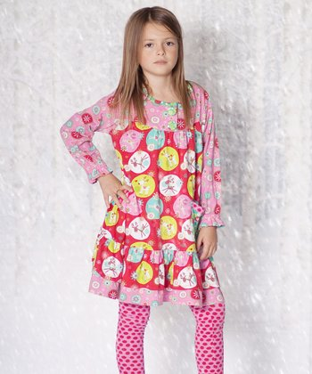 Jingle Jelly Renee Dress & Leggings - Infant, Toddler & Girls