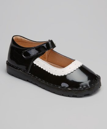 Black & White Patent Sarah Mary Jane