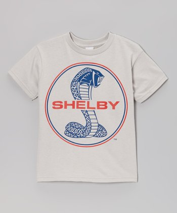 Silver 'Shelby' Cobra Tee - Toddler & Boys