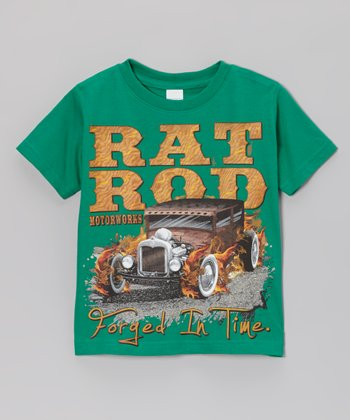 Kelly Green 'Rat Rod' Tee - Toddler & Boys