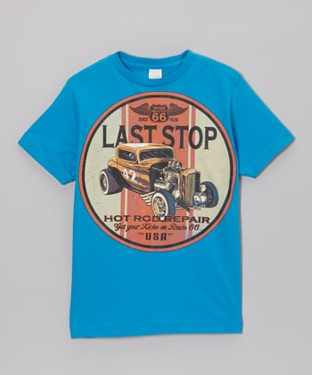 Cobalt 'Last Stop' Hot Rod Tee - Toddler & Boys