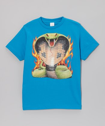 Cobalt Cobra Kai Tee - Toddler & Boys