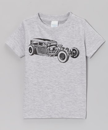Heather Gray Roddy Tee - Toddler & Boys