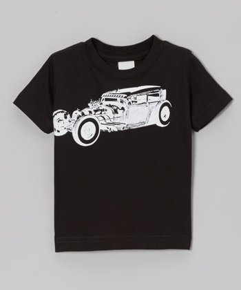 Black Roddy Tee - Toddler & Boys
